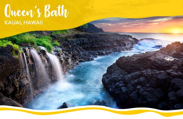 Queen's Bath, Kauai, Hawaii