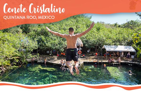 Cenote Cristalino, Quintana Roo, Mexico