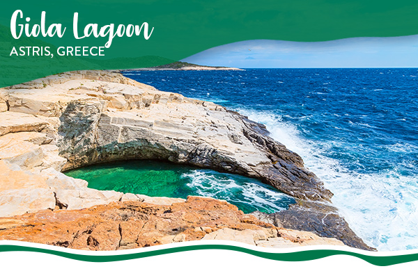 Giola Lagoon, Astris, Greece
