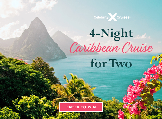 Enter to Win a 4-Night Caribbean Cruise for Two