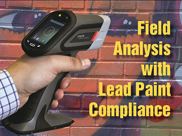 Field Analysis with Lead Paint Compliance